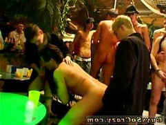 Male gay orgy is spunking to a rigid and prompt close