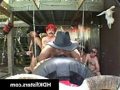 Gay cowboys in super extreme gay fisting gay porn