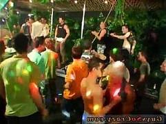 Young russian gay orgy tube Dozens of fellows go bananas for bananas
