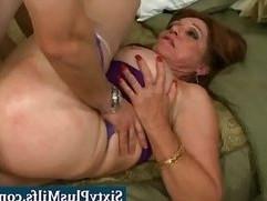 Barebacking granny slut