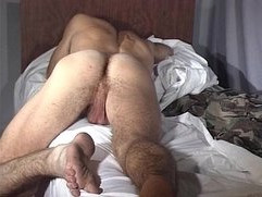 Russian Stud JO w Monster Uncut Cock