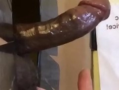 Eating BBC Sperm