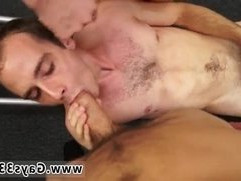Hunk cowboy and boy oral gay sex extreme Fitness trainer gets