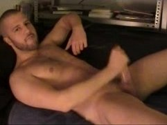 Twink piss and cum over his body