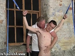 Gay movie of Sean McKenzie is bound up and at the grace of master